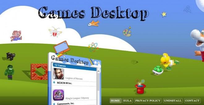 Games Desktop что это за программа