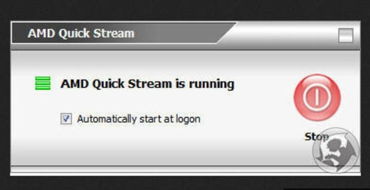 AMD Quick Stream что это за программа