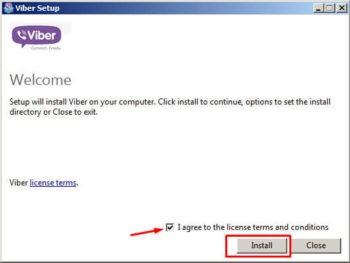 Установка Вайбера на Windows 7