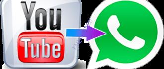 Как отправить видео в WhatsApp из YouTube
